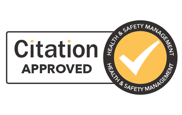 Health and safety management citation approved
