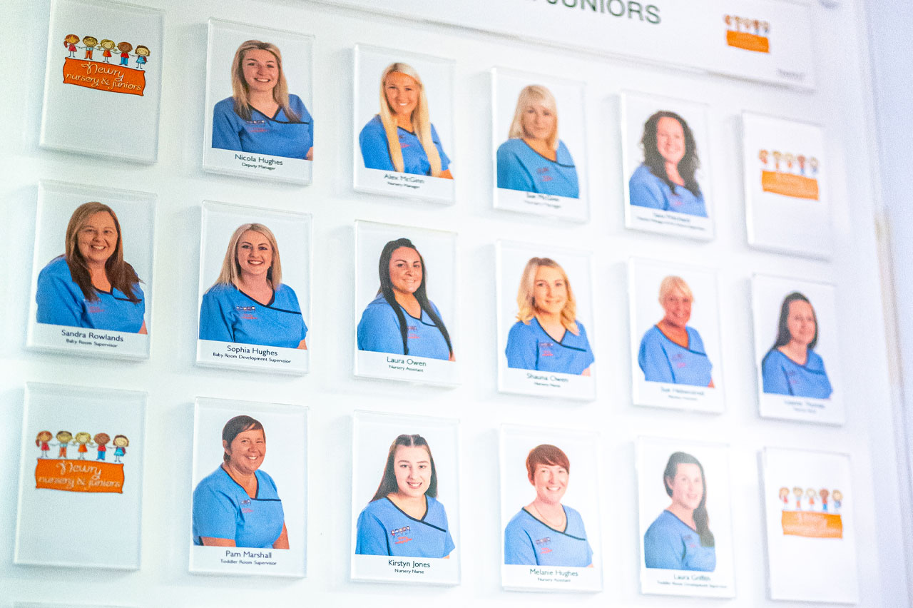 Newry Nursery Staff Board